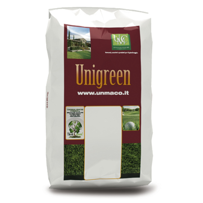 Unigreen Park 2 – 12-5-20 + 3 Mg + 2 Fe- Fertilizzante