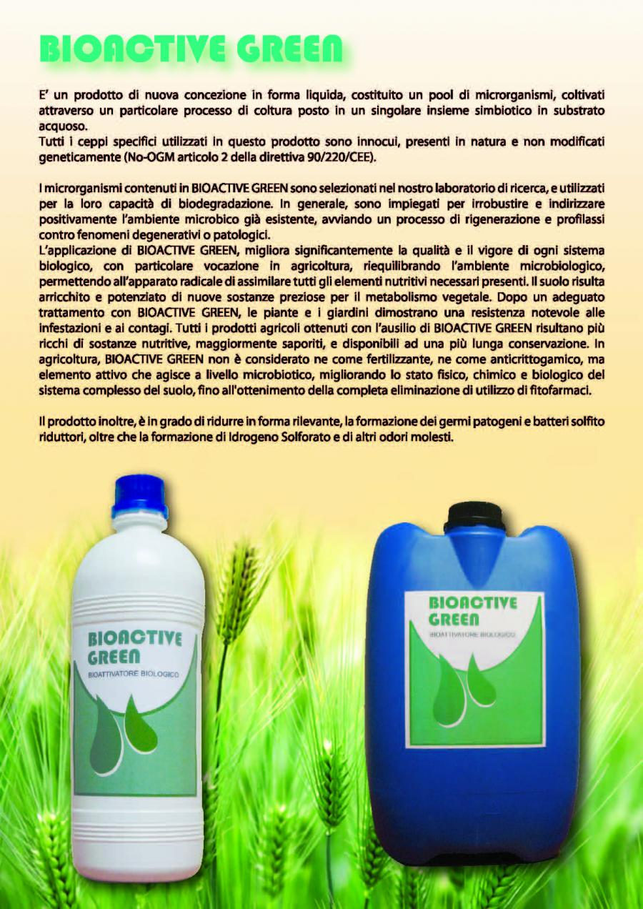 Bioactive green Blacklayer - Prodotti per la difesa del prato